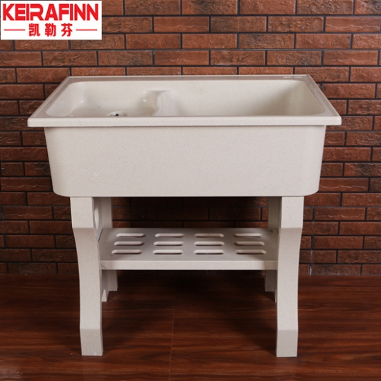 Artificial Quartz Laundry Tub